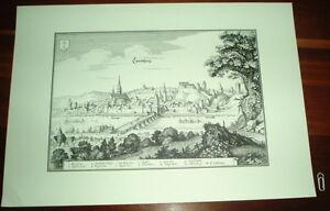 Landsberg-am-Lech-alte-Ansicht-Merian-Druck-Stich-1650-Staedteansicht-Bayern