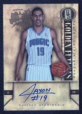 JC 2011-12 Panini Gold Standard 2011 Draft Pick #GA Gustavo Ayon Jersey AUTO