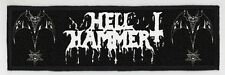 HELLHAMMER SUPERSTRIP PATCH / SPEED-THRASH-BLACK-DEATH METAL