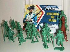 MPC American Revolutionary War Marines MPC-676M 25 50mm green plastic figures