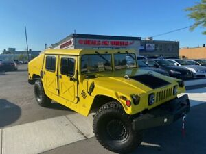 1989 AM General HUMVEE Military Rare Vehicle in Canada, these vehicles were made available to the mi