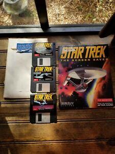 Star-Trek-THE-SCREEN-SAVER-Vintage-1992-PC-Software-Berkeley-Systems