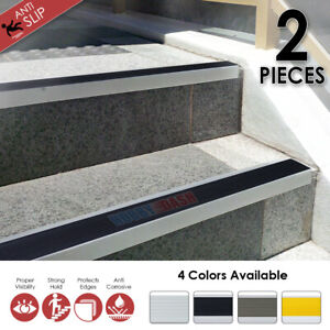 Hobby Dash Anodized Aluminium Stair Nosing Non-Slip Step Edging Trim KK1180