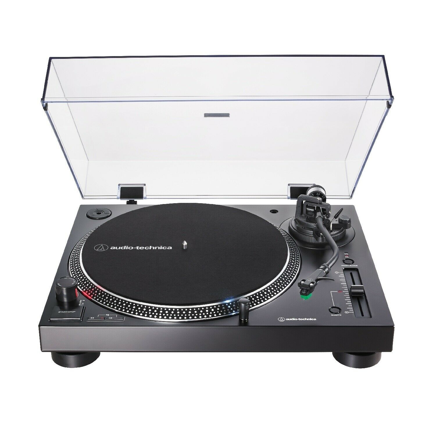 Audio-Technica AT-LP120X-USB Direct-Drive Analog and USB Turntable (Black). Buy it now for 299.00