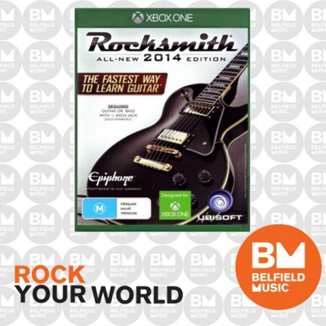 XB1 Rocksmith 2014 With Real Tone Cable - XBOX ONE - Learn to Play Guitar & Bass