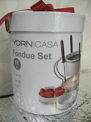 Yorn Casa Schokoladenfondue Set von