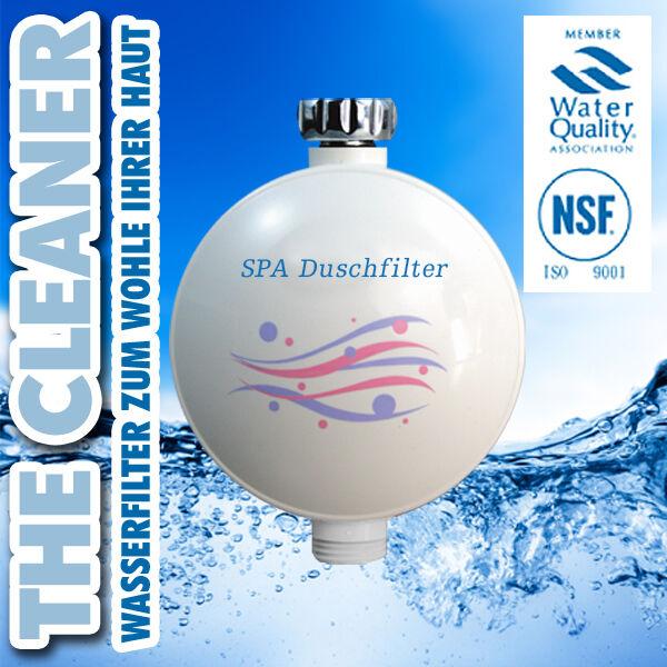 SPA Duschfilter, Filter Wasser Wasserfilter Dusche Chlor Haut Haarpflege | Ausgewählte Materialien  | Hat einen langen Ruf  | Am praktischsten  | Am praktischsten