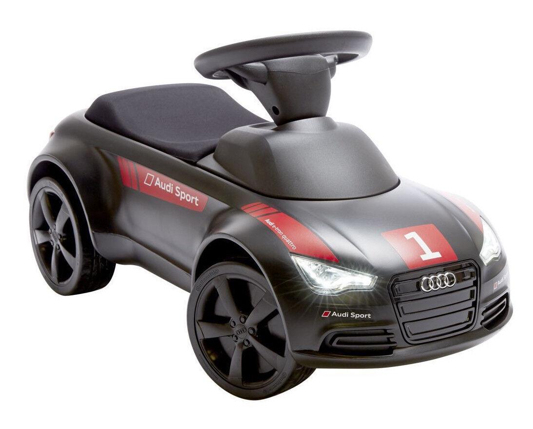 Audi Junior Quattro Motorsport Nero 3201401000 Bambini Cavalcabile Push giocattolo Auto