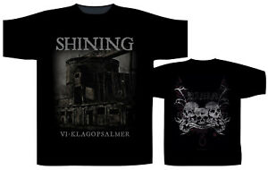 Shining-VI-Klagopsal-Shirt-S-M-L-XL-XXL-Official-Tshirt-Black-Metal-Band-T-Shirt