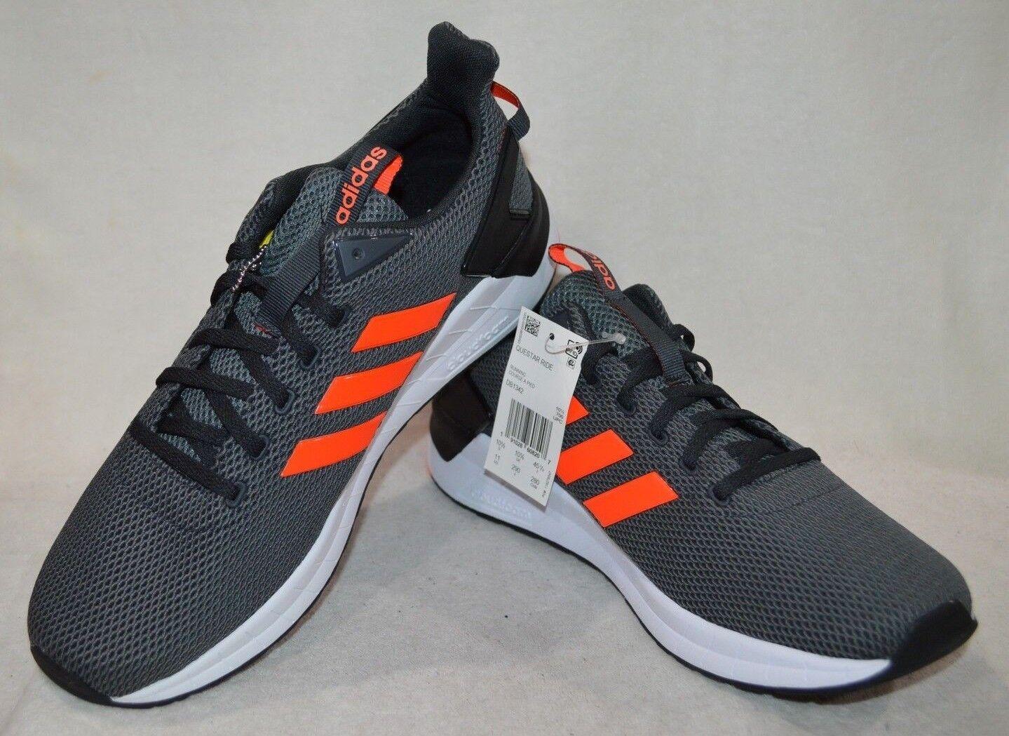 Adidas para hombre Questar Ride De Carbono Solrojo Tenis para Correr-tamaños surtidos Nueva con caja DB1342