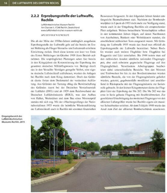 Geheimprojekte der Luftwaffe sowie Bauten und Bunker 1935-1945 Forschung Buch