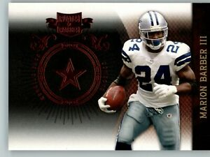 2010 Panini Plates & Patches /499 #26 Marion Barber III - Dallas Cowboys