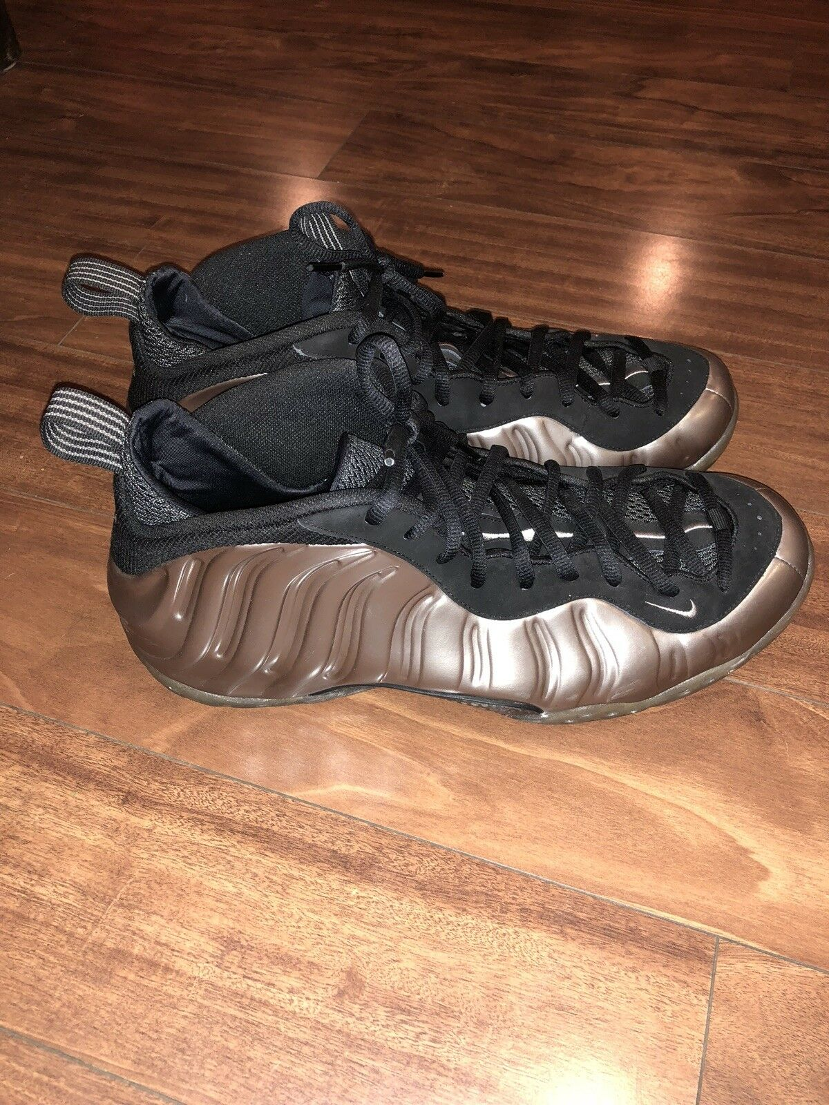 d17ceaa7bc Mint Nike Air Foamposite One Metallic Pewter Black shoes Size 15 US ...