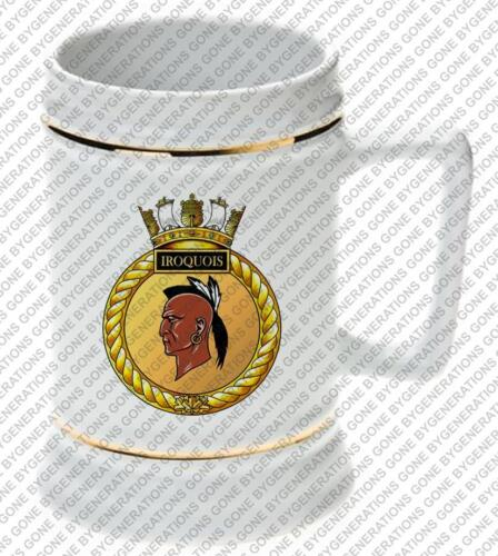 HMCS IROQUOIS ROYAL CANADIAN NAVY BEER STEIN