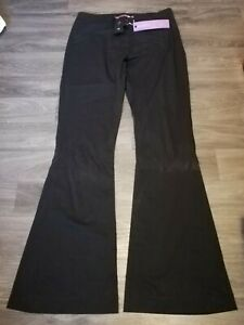 NEW Ex Next Black Workwear Boot Cut Smart Formal Tailored Trousers Size 6-18