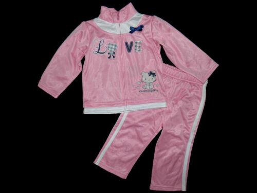 Jogging Costume Hello Charmmy Kitty rose gris bleu 68 74 80 86 92 Nicki Nikki NEUF