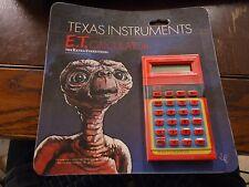 E.T. Extra terrestrial 1982 Texas Insturments Calculator BRAND NEW/SEALED NOS