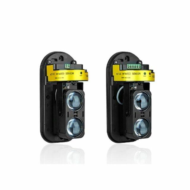 Dual Beam Sensor Active Infrared Intrusion Detector Ir 30m~150m For GSM Alarm