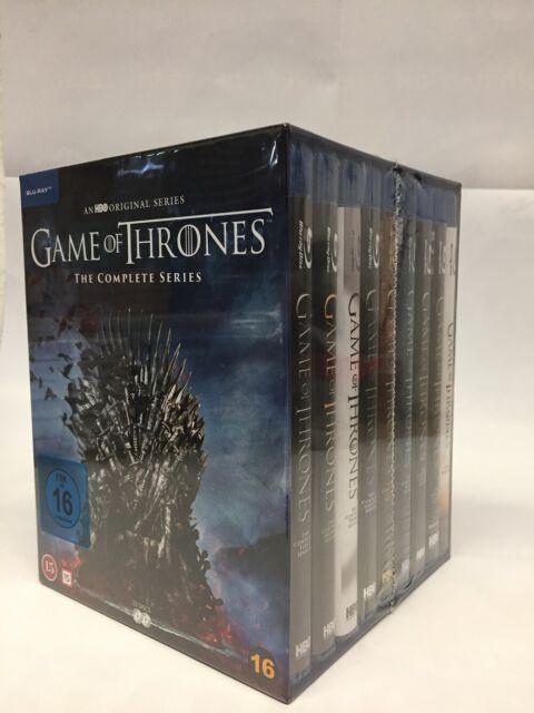 Game of Thrones - Die komplette Serie Staffel 1-8 Blu-ray Box NEU OVP