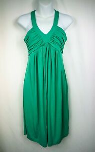 CALVIN-KLEIN-Mint-Green-Fit-Ad-Flare-Sleeveless-Summer-Dress-Size-2