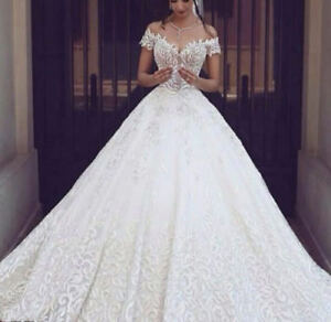 Hot-New-white-ivory-wedding-dress-custom-size-2-4-6-8-10-12-14-16
