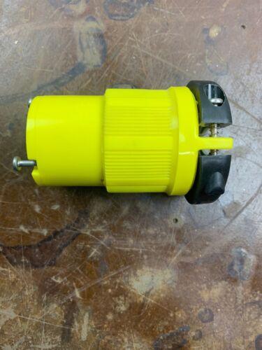 Cooper Arrow Hart Twist Turn Lockng Plug CORROSION RESISTANT 30A 125V CRL530C VB