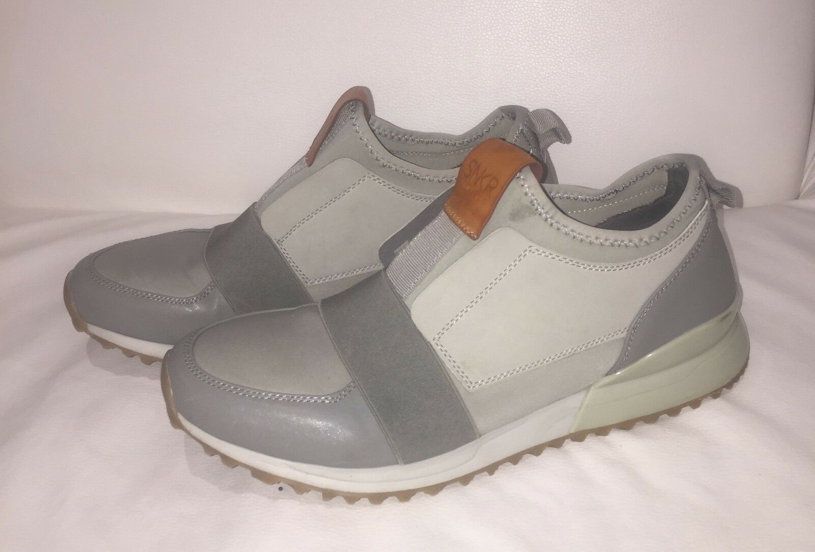 Men's SNKR Project Casual Shoes Grey Size Owned 12 US / /Pre Owned Size . e98e1c