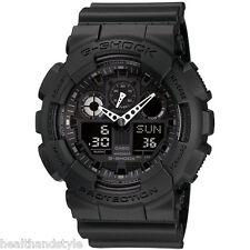Casio G-Shock GA100-1A1 Black 3 Eye X-Large Digital/Analog Watch GA-100-1A1