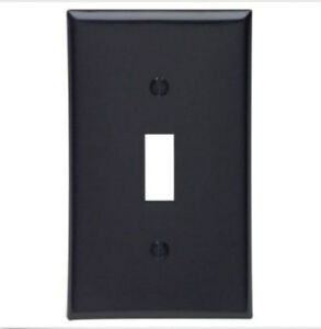 2 Pk Single Gang Light Switch Wall Plate New Bell Electric Antique Copper Finish