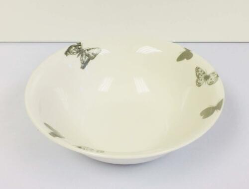 7/'/' Shabby Chic Butterfly Printed Breakfast Bowl