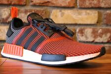 060d5802e2604 adidas NMD R1 Primeknit Lush Red Black S79158 Size 10 Men US for ...
