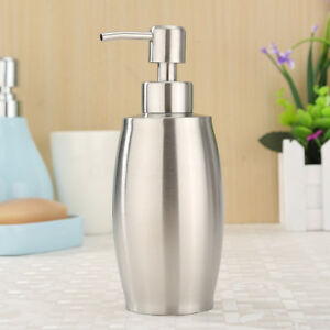 Charmant Image Is Loading 375ml Kitchen Stainless Steel Liquid Shampoo Pump Lotion