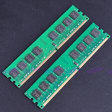 New 4Gb 2x 2GB PC2-6400 DDR2 800 MHZ Low-Density memory 6400 DIMM 240pin Desktop