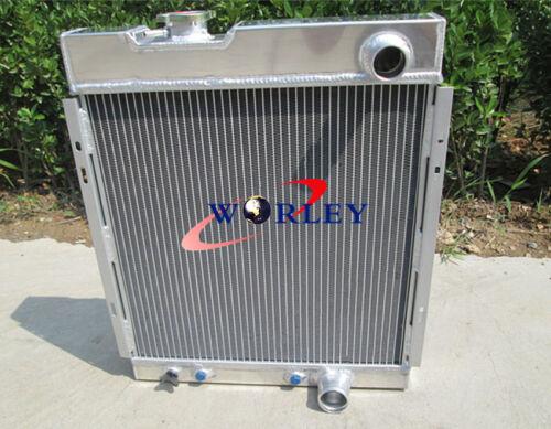56MM 3 CORE ALUMINUM RADIATOR FOR FORD MUSTANG V8 289 302 1964 1965 1966