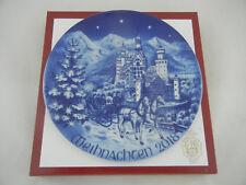 Bareuther Weihnachtsteller Christmas Plate 2018 NEU - lim. Auflage nur 799 Stück