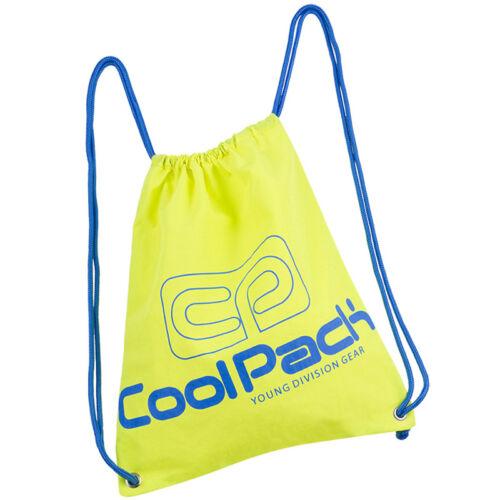 COOLPACK licht Gymbag Turnbeutel Rucksack Sportbeutel Tasche Neon Yellow A460
