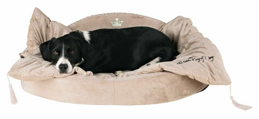 Pet Puppy King of Dogs Cushion Bed with Ornamental Tassels - 55 × 45 cm TRIXIE