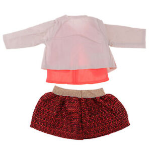 3pcs-Cute-Clothes-Set-Coat-and-Skirt-Accessory-for-18inch-AG-American-Doll-Accs