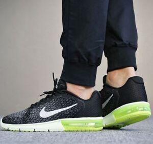 aca799ac62 Nike Men's Air Max Sequent 2 Running Shoe Trainers 852461 011 UK 9.5 ...