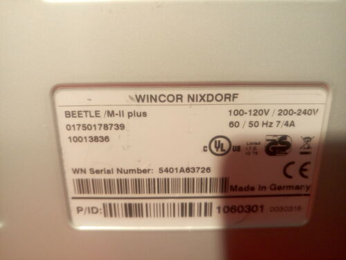 * WINCOR NIXDORF Beetle M-II Plus  Multi-Functional POS C2D//4GB//NO HDD