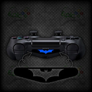 2x playstation 4 ps4 controller light bar batman vinyl decal sticker image is loading 2x playstation 4 ps4 controller light bar batman aloadofball Image collections