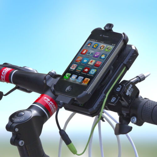 MEILAN Multipurpose 300 Lumen Bike Light Phone Holder and 5400mAh Power Bank!