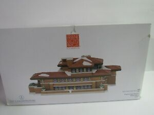 Dept-56-Christmas-In-The-City-Frank-Lloyd-Wright-Robie-House-6000570-Lights-Up
