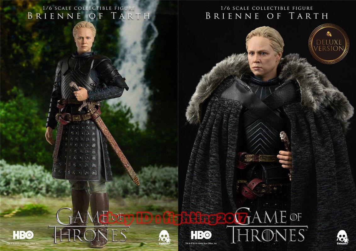 1 6 Threezero HBO Juego de Tronos Brienne of Tarth temporada 7 pre-order 2 versiones