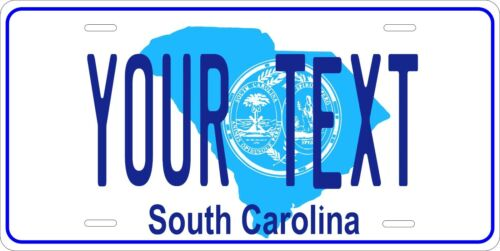 South Carolina 1981 License Plate Personalized Auto Car Custom VEHICLE OR MOPED