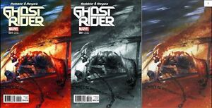 Now-Ghost-Rider-1-GABRIEL-DELL-039-OTTO-COLOUR-B-amp-W-SECRET-VARIANT-SET-1st-Print-NM