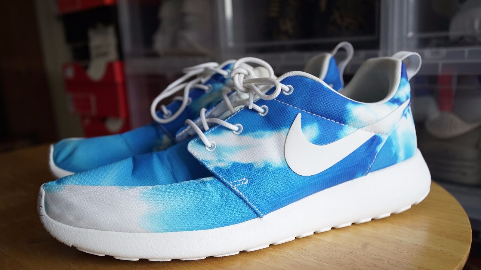 buy online 1fdbf 5a908 ... new arrivals high quality nike roshe run santa monica pack sky size 11  ed632 be7c2