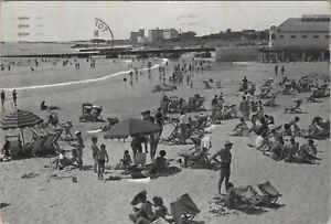 Vintage-Postcard-Humewood-Beach-Port-Elizabeth-South-Africa-1961-People-Swimsuit