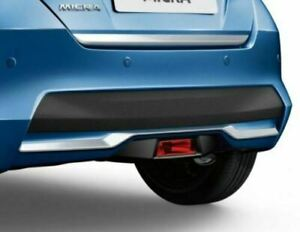 Genuine-Nissan-Micra-2017-gt-Rear-Styling-Plate-Vibrant-Chrome-KE6105F1MC-New