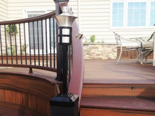 TRU-POST Deck Railing Torch fits a 4.5in x 4.5in Trex Transcend Railing Post